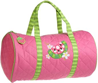 Stephen Joseph Little Girls'  Quilted Duffle Bag, Watermelon, One Size
