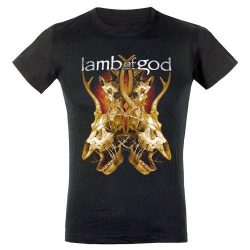 Lamb Of God - Top - Maniche corte  - Donna nero Large