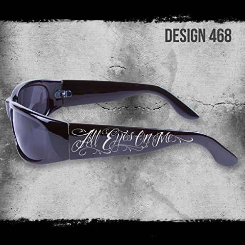 ALL EYES ON ME SHADES BLACK SUNGLASSES CHOPPERS CITY LOCS CHICANO RAP NWT (Chicano Locs compare prices)