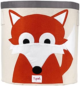 3 Sprouts Storage Bin, Fox