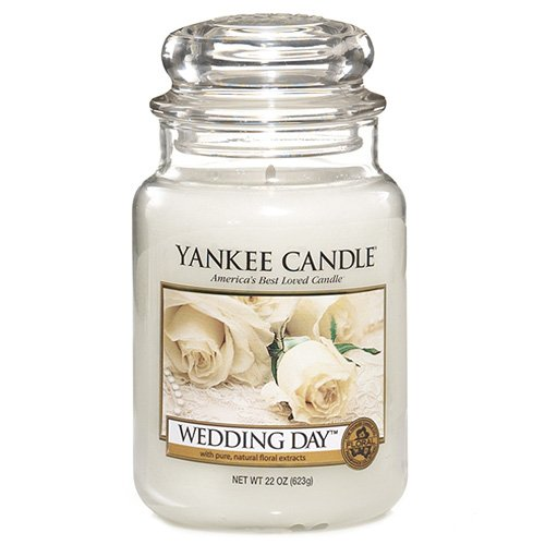 "Yankee Candles - Candela in giara grande""Wedding Day"" (Giorno del matrimonio)"
