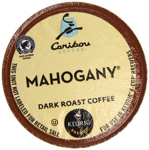 Keurig, Caribou Coffee, Mahogany, K-Cup Packs, 24-Count