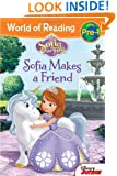 World of Reading: Sofia the First Sofia Makes a Friend: Pre-Level 1
