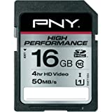 PNY 16GB Class 10 High Performance SD/SDHC Memory Card