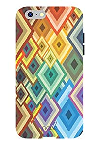 Noise Colorful Diamonds 2 Printed Cover for Apple Iphone 6 Plus