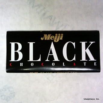 Meiji - Black Chocolate (Net Wt. 2.29 Oz)