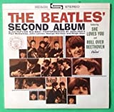BEATLES Second Album LP Vinyl & Cover VG++ 1978 RE ST 2080 Capitol Purple Label