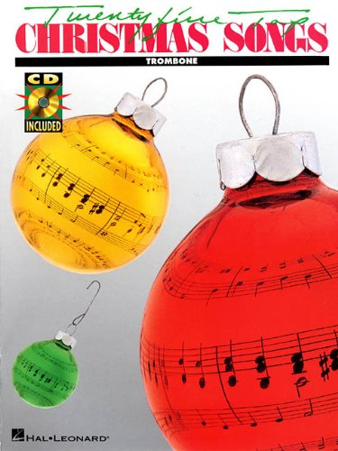 25 Top Christmas Songs Trombone BK/CD