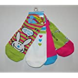 It's Happy Bunny Women/junior's 4-pack No-show Socks