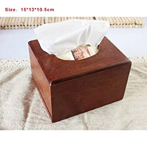 Free Shipping Wooden Tissue Box MZL010-15