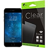 iPhone 6 Screen Protector- i-Blason Apple iPhone 6 4.7 Screen Protector – 3 Pack Premium HD Clear Version for iPhone 6 Air