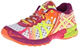 ASICS Womens Gel-Noosa Tri 9 Running Shoe,White/Flash Yellow/Plum,8.5 M US