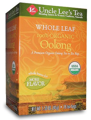 Whole Leaf, Organic Oolong Tea-18 Bags Brand: Uncle Lees Tea