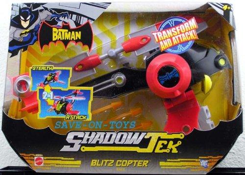 Buy Low Price Mattel The Batman Shadowtek Vehicle Blitz Copter Figure (B000R4HOU8)
