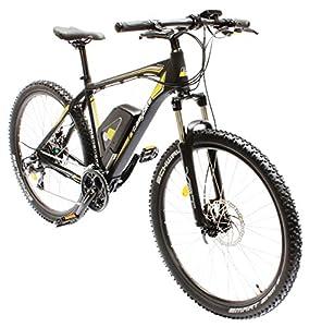 EASYBIKE E-Bike Elektofahrrad M3 650 26 Zoll Bereifung 11Ah 396Wh E-Mountainbike schwarz Modell 2014