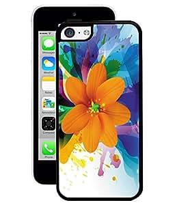 Fuson 2D Printed Flower Designer Back Case Cover for Apple iPhone 5C - D897