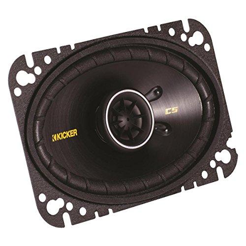 """Kicker 40CS464 4""""x6"""" 2-way Car Speakers"""