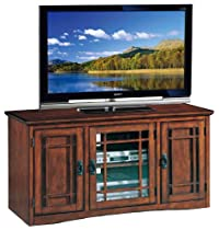 Big Sale Leick Riley Holliday Mission Tall TV Stand, 50-Inch, Oak