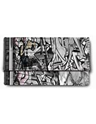 Sleep Nature's Animation Arts Black And White Printed Ladies Wallet