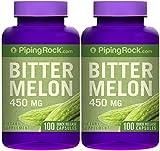 Bitter Melon / Momordica 450 mg 2 Bottles x 100 Capsules