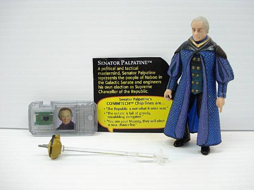 Star Wars 1998 Episode One Senator Palpatine - 1