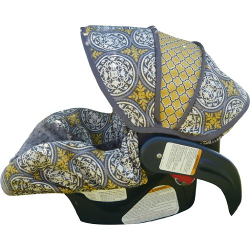 Aviary Scrollwork Infant Car Seat Cover