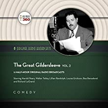 The Great Gildersleeve, Vol. 2: The Classic Radio Collection Radio/TV Program by  Hollywood 360,  NBC Radio - producer Narrated by  full cast, Harold Peary