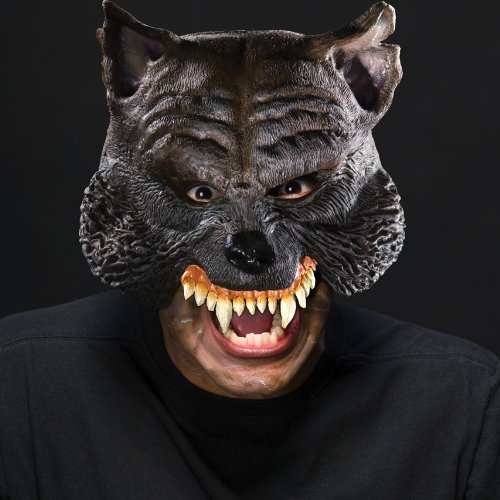 Rubie's Costume Co Manwolf Chinless Mask Costume