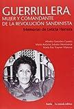 img - for Guerrillera, mujer y comandante de la revoluci n sandinista: memorias de Leticia Herrera book / textbook / text book