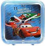 Disney Cars 2, Childrens Square Alarm Clock Featuring Lightning Mcqueen
