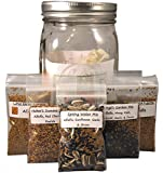 Spring Water Mix Sprouting Kit - Natural Organic Sprouting Seeds - Plus Healthy Sprout Recipe Book Download