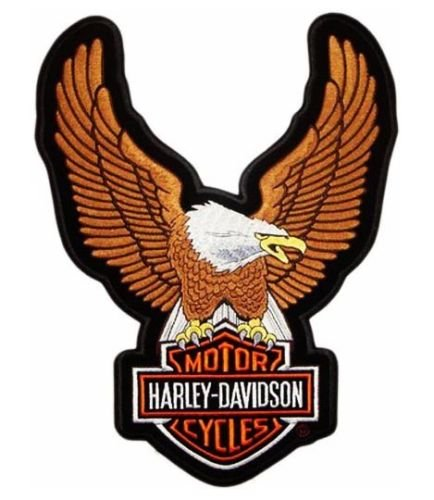 maxi-toppa-grande-xl-patch-aquila-americana-eagle-24x34-cm-brown-harley-davidson-giubbotti-gilet-gia
