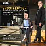 Shostakovich: Six Romances on Verses by British Poets; Scottish Ballad; Suite on Poems by Michelangelo