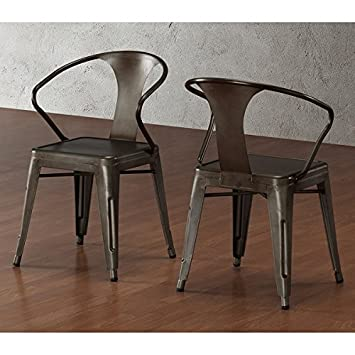 Dining Room Chairs Stacking Kitchen Vintage Stools Set of 4