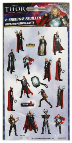 Stickerfitti Thor Flat Pack Stickers