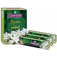MaayasDeep Rajnish Incense Sticks-Rajnigandha-Approx-150 Sticks (200 Grams)