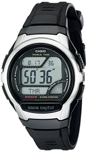 Casio Men's WV58A-1AVCR Waveceptor Atomic Digital Watch