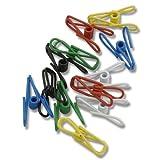 Multi-purpose Colorful Metal Clips Holders 12 Pack