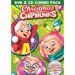 Christmas with the Chipmunks DVD &amp; CD Combo Pack