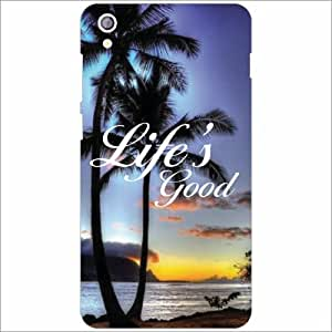 Lenovo S850 Back Cover - Life Is Good Designer Cases