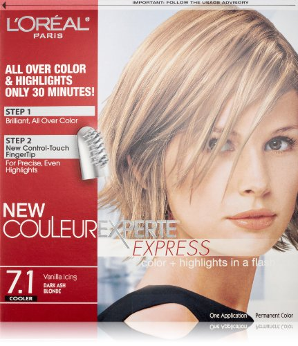 Couleur Experte Dark Ash Blonde , Vanilla Icing (Hair Colors For Women compare prices)