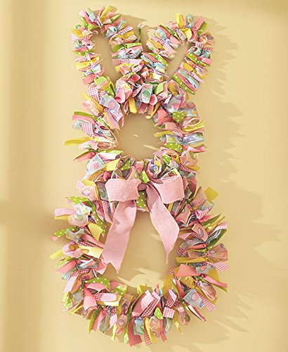 Easter Bunny Rabbit Wreath