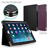 [CORNER PROTECTION] CaseCrown Bold Standby Pro Case (Black) for iPad 4th Generation with Retina Display, iPad 3 & iPad 2 with Sleep / Wake, Hand Grip, Corner Protection, & Multi-Angle Viewing Stand