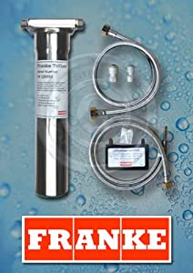 Franke Triflow : FRANKE TRIFLOW STAINLESS STEEL REPLACEMENT FILTER HOUSING - GENUINE ...