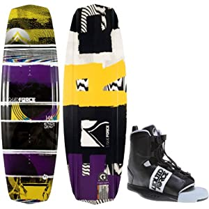 Liquid Force Witness Grind Wakeboard 144 Mens + Element Bindings Sz 8-12 by Liquid Force