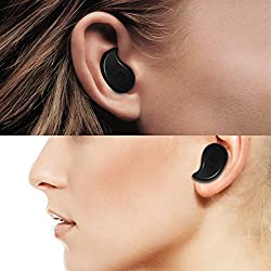 House of Quirk Mini Style Wireless Bluetooth Headphone 1pcs In-Ear V4.0 Stealth Earphone Phone Headset Handfree Universal for All Phone Bluetooth Headphones Smallest Wireless Invisible Bluetooth Mini Earphone Earbud Headset Headphone(ASSORTED COLOR WILL BE SEND)