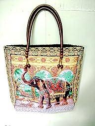 Thai Tie Dye Sling Bag Purse Crossbody Messenger Hippie