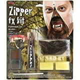 Werewolf Zipper Fx Make Up Kit