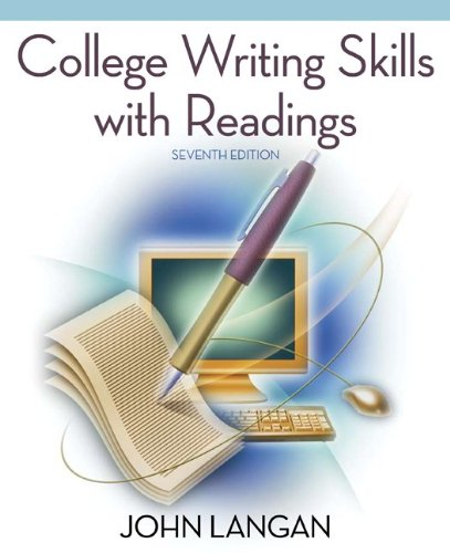 College writing services john langan pdf