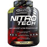 MuscleTech Nitro-Tech Performance Series, Vanilla, 4 lbs ( 4-Pack) by MUSCLETECH